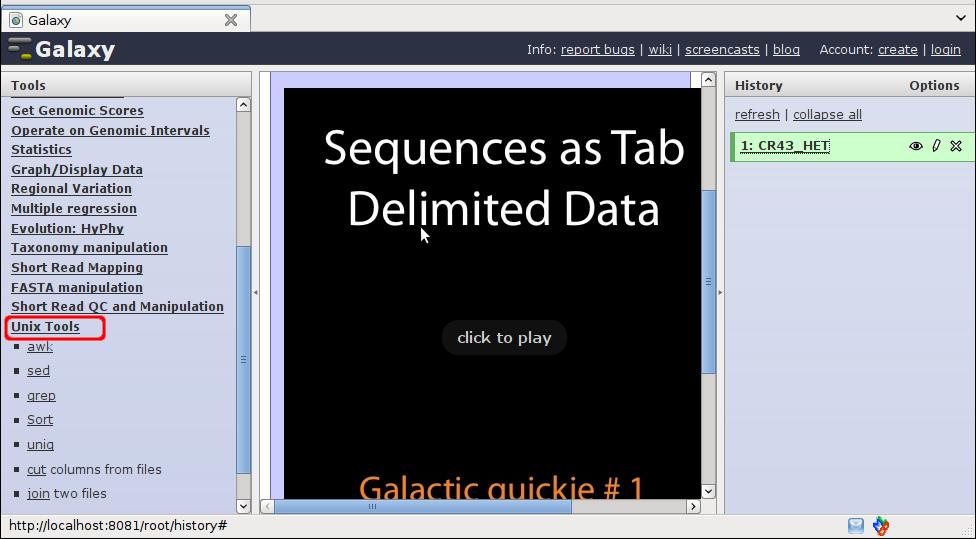 Galaxy Unix-Tools - Contact